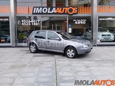 Foto venta Auto Usado Volkswagen Golf 5P 1.6 Comfortline (2004) color Gris Claro precio $140.000