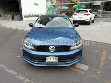 Foto venta Auto Seminuevo Volkswagen Jetta 2.0 (2015) color Azul Metalico precio $151,000
