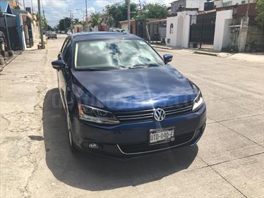 Foto venta Auto usado Volkswagen Jetta Sport Tiptronic (2014) color Azul precio $180,000