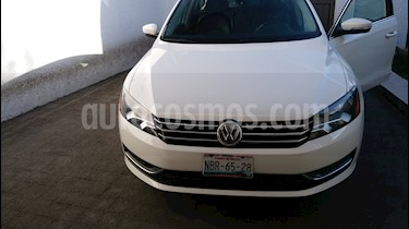 Foto venta Auto usado Volkswagen Passat 2.8L V6 Tiptronic Piel (2015) color Blanco precio $217,000