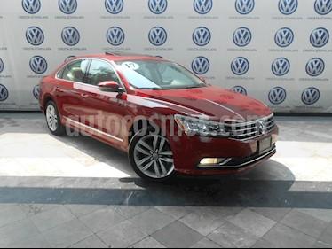 Foto venta Auto Seminuevo Volkswagen Passat DSG V6 (2017) color Rojo precio $449,000