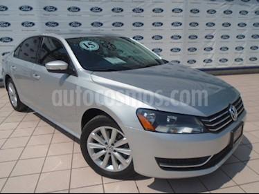 Foto venta Auto Usado Volkswagen Passat Tiptronic Comfortline (2015) color Plata precio $211,000