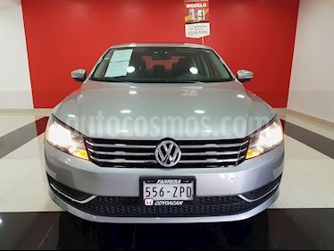 Foto venta Auto Usado Volkswagen Passat Tiptronic Highline (2014) color Gris Tungsteno precio $205,000