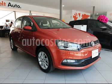 Foto venta Auto Seminuevo Volkswagen Polo 1.6L Base 4P Ac (2017) color Naranja precio $189,500