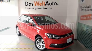 Foto venta Auto Seminuevo Volkswagen Polo 1.6L Base 4P (2018) color Rojo precio $225,000