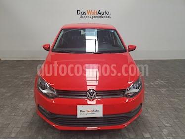 Foto venta Auto Seminuevo Volkswagen Polo 1.6L Base 4P (2017) color Rojo precio $195,000