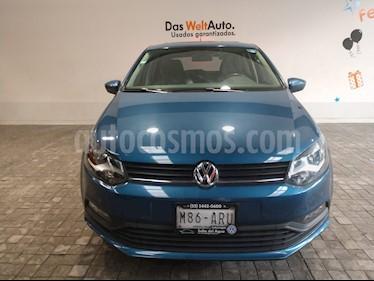 Foto venta Auto Seminuevo Volkswagen Polo 1.6L Base 4P (2018) color Azul precio $215,000