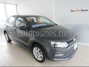 Foto venta Auto Seminuevo Volkswagen Polo 1.6L Base 5P Ac (2018) color Gris Oscuro precio $215,000