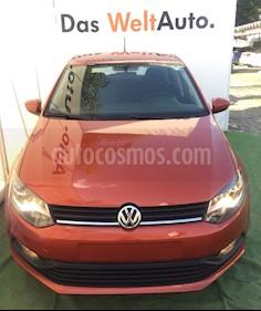 Foto venta Auto Usado Volkswagen Polo 1.6L Base 5P (2018) color Naranja precio $212,000