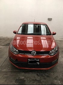 Foto venta Auto usado Volkswagen Polo 1.6L Base 5P (2016) color Naranja precio $175,000