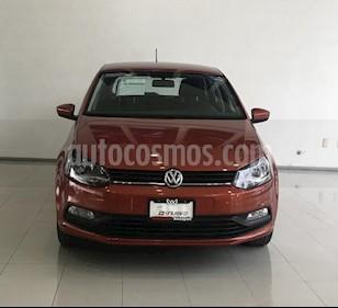 Foto venta Auto Seminuevo Volkswagen Polo 1.6L Base 5P (2017) color Naranja precio $190,000