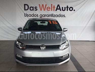 Foto venta Auto Seminuevo Volkswagen Polo 1.6L Base 5P (2018) color Plata Reflex precio $220,000