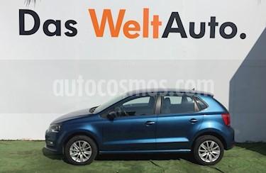 Foto venta Auto Seminuevo Volkswagen Polo 1.6L Base 5P (2018) color Azul precio $220,000