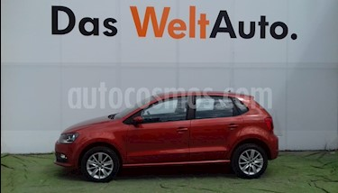 Foto venta Auto Seminuevo Volkswagen Polo 1.6L Base 5P (2018) color Naranja precio $208,000