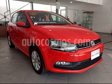 Foto venta Auto Seminuevo Volkswagen Polo 1.6L Comfortline 5P (2017) color Rojo precio $189,500