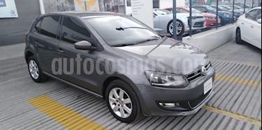 Foto venta Auto Seminuevo Volkswagen Polo 1.6L Comfortline 5P (2014) color Gris Pirineos precio $160,000