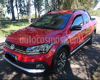 Foto venta Auto usado Volkswagen Saveiro 1.6 Cabina Doble Highline (2017) color Rojo Flash precio $530.000