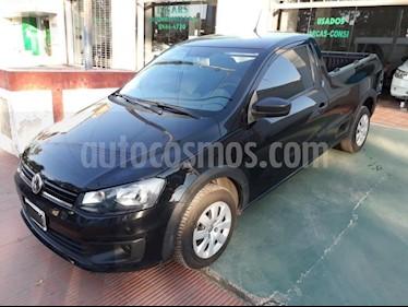 Foto venta Auto Usado Volkswagen Saveiro 1.6 Mi Ac (2015) color Negro precio $270.000