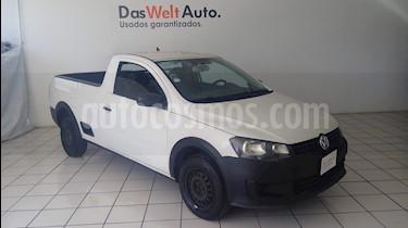 Foto venta Auto Seminuevo Volkswagen Saveiro Starline AC (2014) color Blanco Candy precio $129,900