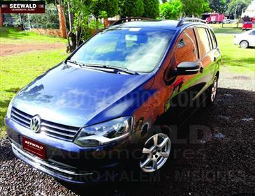 Foto venta Auto Usado Volkswagen Suran 1.6 Trendline (2012) color Azul precio $195.000