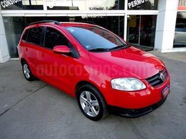 Foto venta Auto Usado Volkswagen Suran 1.9 Highline SDI (2010) color Rojo Syrah precio $149.000