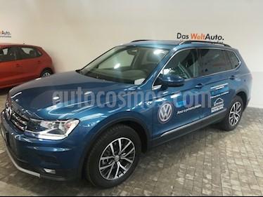 Foto venta Auto Usado Volkswagen Tiguan Comfortline 7 Asientos Tela (2018) color Azul precio $439,000