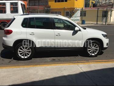 Foto venta Auto usado Volkswagen Tiguan Track & Fun Piel (2014) color Blanco precio $260,000