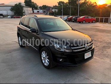 Foto venta Auto Seminuevo Volkswagen Tiguan Wolfsburg Edition (2017) color Negro Profundo precio $370,000