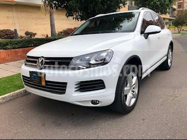Foto venta Carro usado Volkswagen Touareg 2014 (2014) color Blanco precio $95.500.000