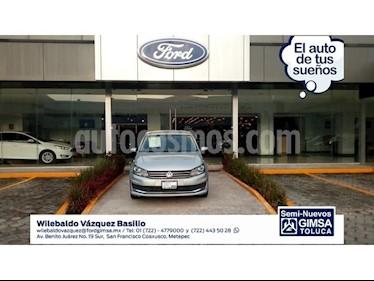 Foto venta Auto Seminuevo Volkswagen Vento 1.6L (2017) color Plata precio $160,000
