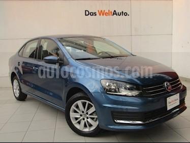 Foto venta Auto Seminuevo Volkswagen Vento Comfortline TDI (2018) color Azul precio $238,000