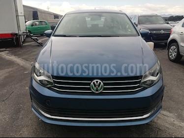 Foto venta Auto Seminuevo Volkswagen Vento Comfortline (2018) color Azul precio $195,000