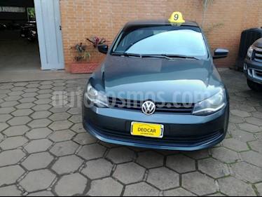 Foto venta Auto Usado Volkswagen Voyage 1.6 Confortline (101cv) (L13) (2015) color Gris precio $265.000