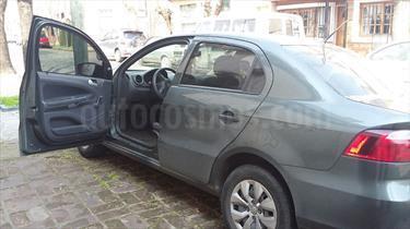 Foto venta Auto Usado Volkswagen Voyage 1.6 Trendline (2015) color Gris Cuarzo precio $192.000