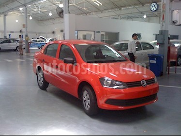 Foto venta Auto Usado Volkswagen Voyage 1.6 Trendline (2018) color Rojo precio $180.000