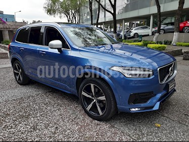 Foto venta Auto Seminuevo Volvo XC90 T6 R Design AWD 7 Pas. (2017) color Azul Electrico precio $955,000
