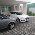 Foto venta Auto usado Audi A3 1.8L Sportback Ambiente Plus S-Tronic  (2009) color Blanco Ibis precio $150,000