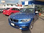 Foto venta Auto Seminuevo BMW Serie 2 M240iA Aut (2017) color Azul Profundo precio $630,000