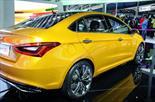 Foto venta carro usado Chery X1 1.3L (2018) color Amarillo Carman precio BoF650.000.000