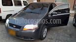 Foto venta Carro Usado Chevrolet Aveo 1.6L Ac (2011) color Gris Galapagos precio $18.800.000