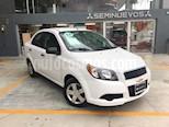 Foto venta Auto Usado Chevrolet Aveo LS Aut (2017) color Blanco precio $165,000