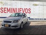 Foto venta Auto Seminuevo Chevrolet Aveo LT Aut (2017) color Plata precio $155,000