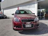 Foto venta Auto Usado Chevrolet Aveo LT (2016) color Rojo Tinto precio $150,000