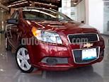 Foto venta Auto Seminuevo Chevrolet Aveo Paq B (2017) color Rojo Merlot precio $135,000