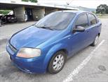 Foto venta carro usado Chevrolet Aveo Sedan 1.6 AT (2008) color Azul precio u$s1.900