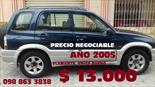 Foto venta Auto usado Chevrolet Grand Vitara 5P Ac (2005) color Azul precio u$s13.000