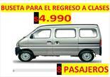 Foto venta Auto Usado Chevrolet N300 Pasajeros 4x2 (2015) color Gris precio u$s4.990