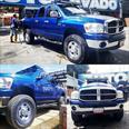 Foto venta carro usado Dodge Ram 2500 Pick Up 4x4 (2007) color Azul precio u$s12.000