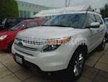 Foto venta Auto Seminuevo Ford Explorer 5 PTS. LIMITED, V6, TA, PIEL, QC, DVD, SYNC (2013) color Blanco Platinado precio $325,000