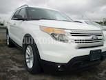 Foto venta Auto Usado Ford Explorer 5 PTS. XLT, V6, TA, AE, 3ER. ASTO., SYNC (2014) color Blanco precio $310,000